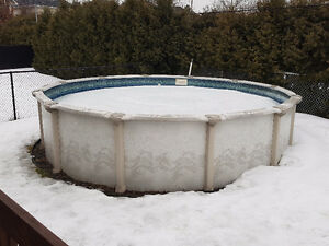 Piscine Hors Terre 18' Above Ground Swimming Pool