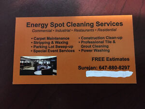 cleaning subcontractors