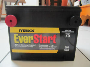 EverStart Maxx Group Size 75 850 Cranking Amp Battery Brand New!