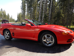 Summer Dreamin'  Hot RED AWD, V6TT, Hardtop Convertible