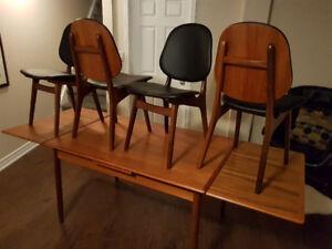 Mid Century Modern Teak Dining Set - Arne Hovmand Olsen