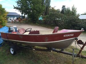 16ft side console fishing boat