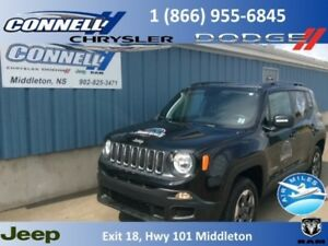 2018 Jeep Renegade Sport  - Bluetooth -  Uconnect - $185.31 B/W