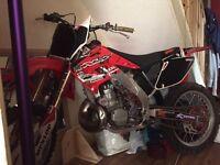 Cr250 2003 model