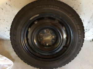 Excellent condition winter tires for sale