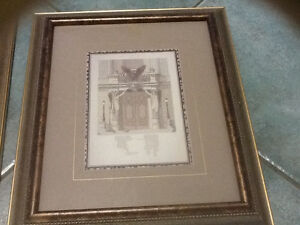 Pair of framed prints of Le Nouvel Opera de Paris London Ontario image 3
