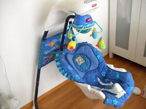 Fisher Price Cradle Swing - $35 IF GONE TODAY WILL DELIVER.