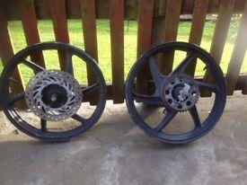 Honda cbr 125 wheels