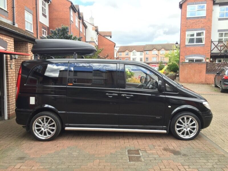 Black windows for homes - 2004 Mercedes Vito Camper Van 2 2 Turbo Diesel 6 Speed In Gosforth