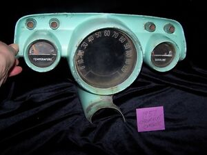 COOL GREEN 1957 CHEVROLET CONSOLE MAN CAVE ITEM!
