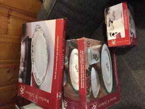 12 piece Christmas China