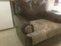 Leather chair ''Ducks Unlimited Edition''