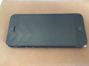 Apple iPhone 5 Black 16GB unlocked Kitchener / Waterloo Kitchener Area image 1