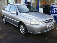 2004 KIA RIO 1.3 LX 5 DOOR ESTATE MANUAL MOT NOV 2017 FULL HISTORY TWO KEYS