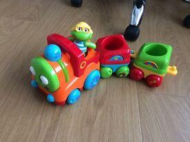 Elc toy box train