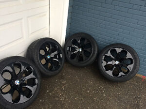 "Bmw oem 19"" wheels & tires continental-pro Runflats /"