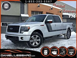 Ford F-150 FX4, CREW, 4WD, BTE 6.5 P, GPS, CUIR ET TISSUS 2014