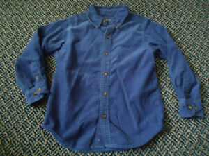 Boys Size 4 Long Sleeve Dress Shirt  by ****Children's Place***