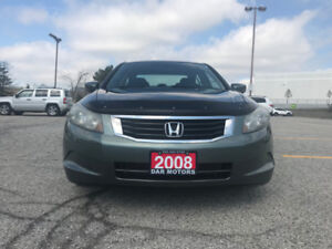 2008 Honda Accord LX /Fully Certified/Ultra Low km113250