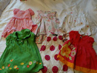 girls clothing 18 mths and 12-18mths