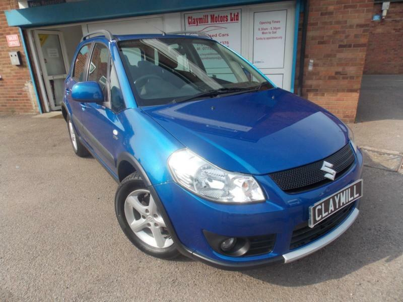 suzuki sx4 1 9ddis 4grip diesel manual 4wd 4x4 blue 5 door 2008 08 in leicester. Black Bedroom Furniture Sets. Home Design Ideas
