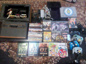 Trade lot video games, consoles, DVDs , controllers