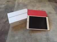 iPad mini with touch security and Retina display. Gold