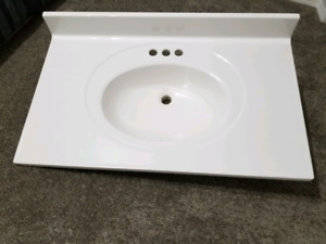 Sink and countertop combo