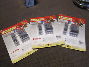 Canon® CLI-221/PGI-220 Combo Pack Print Cartridges - New, in Pac Kitchener / Waterloo Kitchener Area image 4