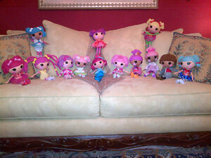 Ultimate Collection of Full Size Lalaloopsy Dolls MINT CONDITION