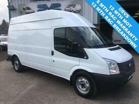 2013 FORD TRANSIT 2.2 6 SPEED T350 ONE OWNER FULL SERVICE HISTORY DIESEL
