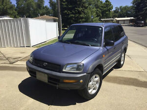 1997 Toyota RAV4 SUV, LOW KMS Best shape you will find anywhere