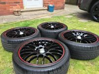 "17"" Calibre Motion Alloys with Tyres"