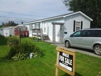 Reduce cause we are moving Mini Home for sale 16'x 64', Moncton