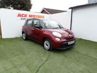2013 FIAT 500L 1.6 TD EASY 105 BHP,ONLY 41000 MILES WITH FULL SERVICE HISTORY