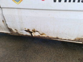 Wanted - (or possibly welded/repaired) Side Load Door for 2010 Transit