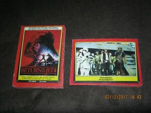 Star Wars Trading Cards - 33 Return of the Jedi Cards
