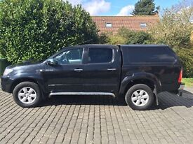 Toyota Hilux Invincible 61 plate