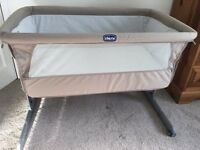 Chicco next2me cot travel cot co-sleeper