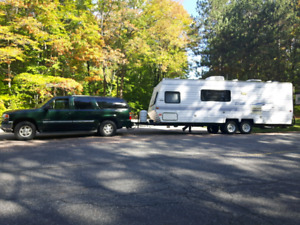 2004 GMC Yukon xl truck and trailer combo