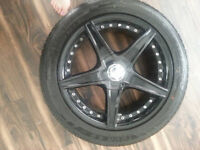 Selling a set of tires and rims