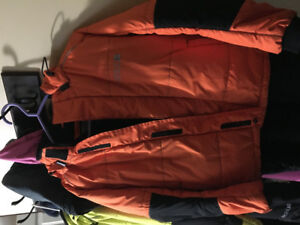 2 youth ckx snowmobile suits size 10