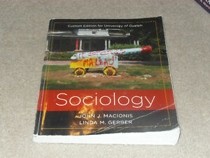 Sociology (Custom Edition for University of Guelph) Cambridge Kitchener Area image 1