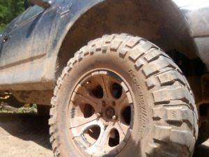 97to03 ford 5 bolt off set wheels
