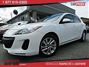 Mazda MAZDA3 4dr HB Sport GX MAGS ** NOUVEL ARRIVAGE ** 2013
