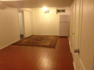 2 Bedroom Basement with Separate entrance (ninth line/thomas)
