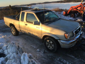 For sale 4x4 truck and plow