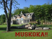 EASTER WEEKEND- MUSKOKA LUXURY VILLA