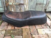 Custom motorbike seat, possibly for a CB600?