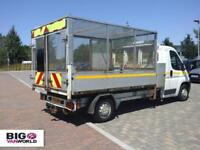 2012 CITROEN RELAY 35 HDI 130 L3 LWB ALLOY TIPPER WITH CAGED DROPSIDE DIESEL